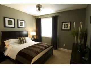 Delightfully decorated Master Bedroom