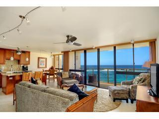 Amazing Living Room Views, Open to Kitchen and Dining Area