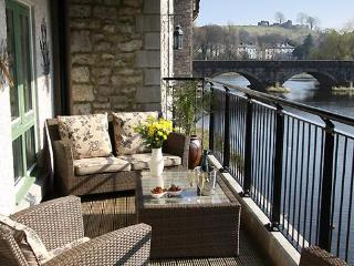 Your own private balcony with a view of Kendal Castle
