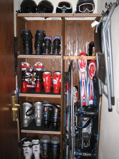 Private Ski Locker