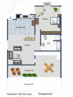 Floorplan 1st Floor Hacienda