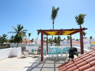 Mint clean 2 bedr. 2 full baths-walk to the beach! - Punta Cana vacation rentals