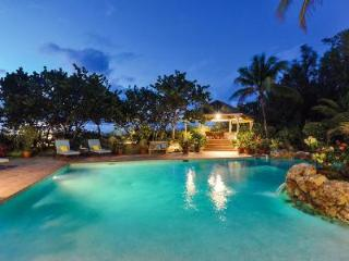 Soleil Couchant - Beachfront villa offers pool, spectacular sunsets & tropical elegance, Terres Basses