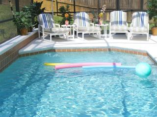 Pool With Sunloungers