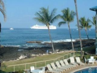 Oceanfront Kona Reef-You'll be only 60' from waves, Kailua-Kona