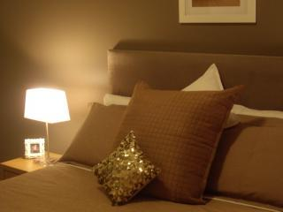 Queen Bed and Luxury Linen