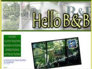 Welcome to HELLO  B&B, Atlanta