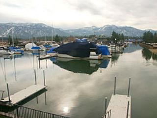 Lovely Tahoe Keys condo with a spectacular view of the marina, #44, South Lake Tahoe