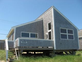 Front of cottage with deck; sits on sand and beach grass - Newish, Architect-Designed - 2nd wk July on sale! - Truro - rentals