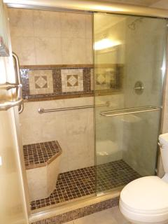 Newly Remodeled Shower