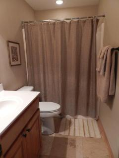 Full Bath on Main Floor with tub/shower combination