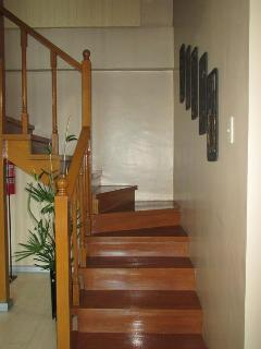Stairs for going up to 2nd flr