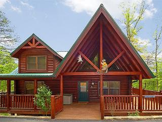 2 Bedroom Luxury Cabin with 2 Master Suites and Private Deck - FREE wireless!, Gatlinburg
