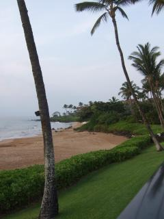 Partial view of sandy Polo Beach--one of Maui's top ten