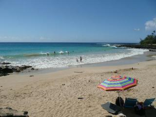 Ocean view 3 bedroom home at Poipu Beach with A/C