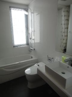 Luxurious Bathroom with Jacuzzi and Toto toilet