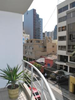 View from the apartmen