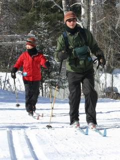 Cross country skiing-Dec to Apr