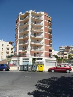View of the Apartment Block with Private Parking Lot