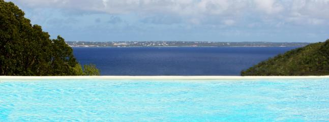 View from the pool on Anguilla