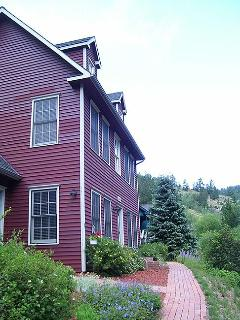 one large cottage, three separate spaces for privacy of large parties