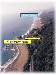 LOCATION SOUTH OF PLAYA DOMINICAL