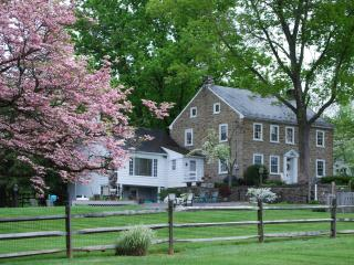 GORGEOUS stone farm home on immaculate horse farm, Lancaster