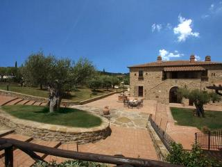 Luxury Villa in Cortona area, Views, Pool, A/C - Tuscany vacation rentals
