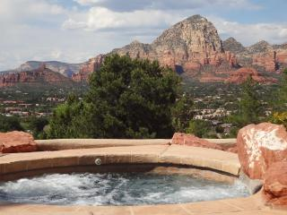 Pool & Spa-Heated-Private-Scenic Red Rock Views, Sedona