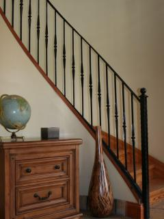Stairs in the Coach House
