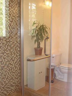 Full Bathroom with Glass Shower