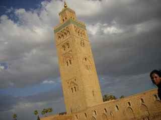 the koutoubia in Marrakech