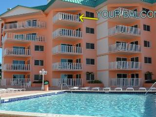 Stunning Ocean View Condo!  Flat Screen TV, WiFi, Indian Shores
