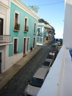 View from the terrace of the Atlantic