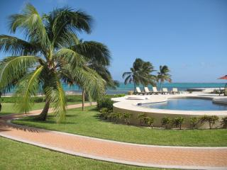 LUXURY CONDO ON AMBERGRIS...25 STEPS TO CARIBBEAN!, San Pedro