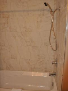 New Tub and Shower