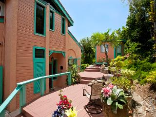 Seabright at Estate Peterborg, St. Thomas - Ocean View, Pool, Lush Tropical Landscaping