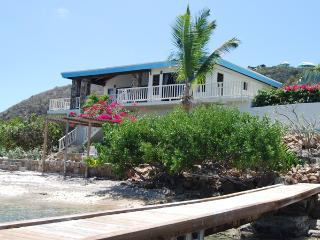 Serendipity at Leverick Bay, Virgin Gorda - Secluded Area, Private Beach, Private Dock