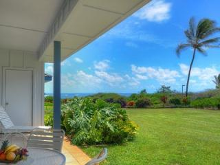 Poipu Sands 417-2 bedroom/2 bath, first floor unit only 100 yds from Shipwreck Beach-Free car w/7nt stay