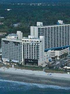 resort view - 3 Bedroom Ocean View Condo in the Heart of Myrtle - Myrtle Beach - rentals
