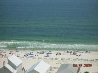 Your balcony view!  Panoramic Gulf of Mexico.