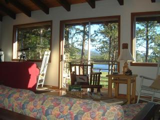 Alternate between taking in the view, sipping coffee, and reading your book...ahh!