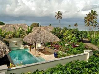 Luxury 4 bedroom Nevis villa. Directly on famed Pinney's Beach!