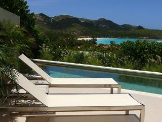 Beautiful spacious private villa on the hillside with ocean views WV ACE, St Jean
