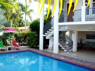 Best Family Rental w/Pool Steps from Corcega Beach, Rincon