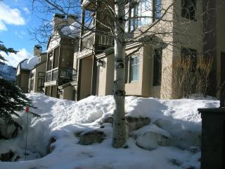 Meadows ski in Beaver Creek townhome
