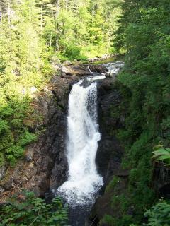 Moxie Falls the states higest waterfall