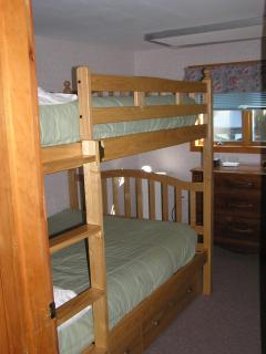 BRM #3 Has Full-size Bunk Over Full-size Bunk & Sleeps 4 Adults.