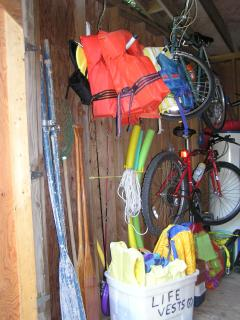 Even A Fishing Pole, Lounge Chairs, & Pair Of Water Skis. . .