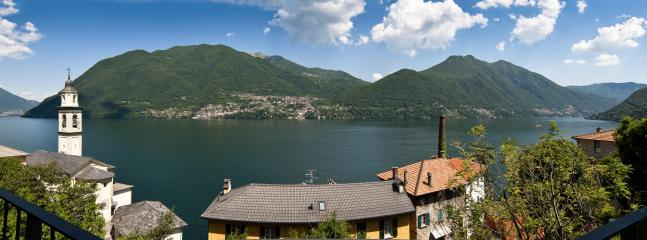 The 180 degrees view right in front of you from the chalet - Romantic  charming cottage, breathtaking view - Brienno - rentals